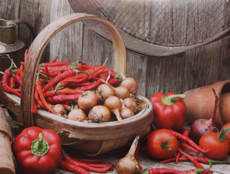 groente schaal