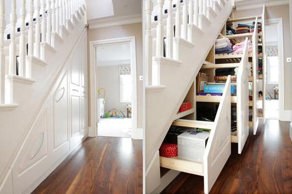 Maak van de trap in woonkamer een blikvanger interieur ideeen