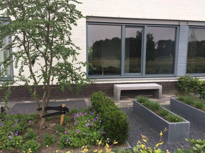 betonelementen plantenbak
