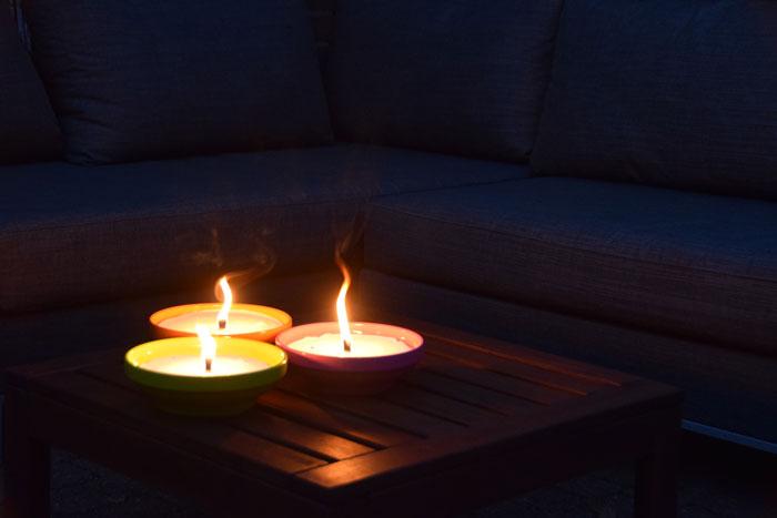 Wonderbaarlijk Kaarsen voor buiten waar je enorm vrolijk van wordt - Interieur ideeen EE-12