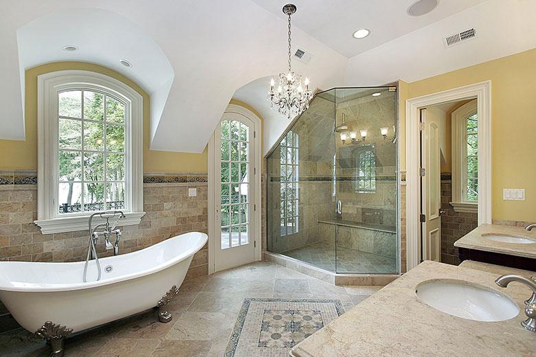 klassieke-badkamer-voorbeelden-inloopdouche