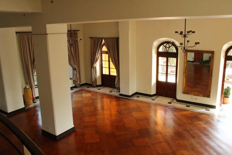 houten vloer mozaïek legpatroon