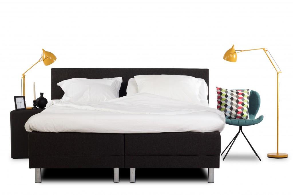luxe slaapkamer bed