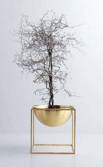modern interieur accessoire plantje