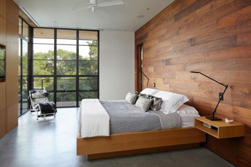 moderne slaapkamer ideeen: bed met bijpassend matras