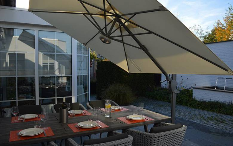 parasol tafel tuin