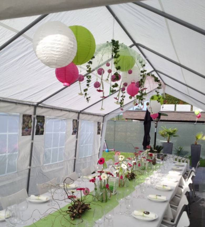 tuin partytent 3x3