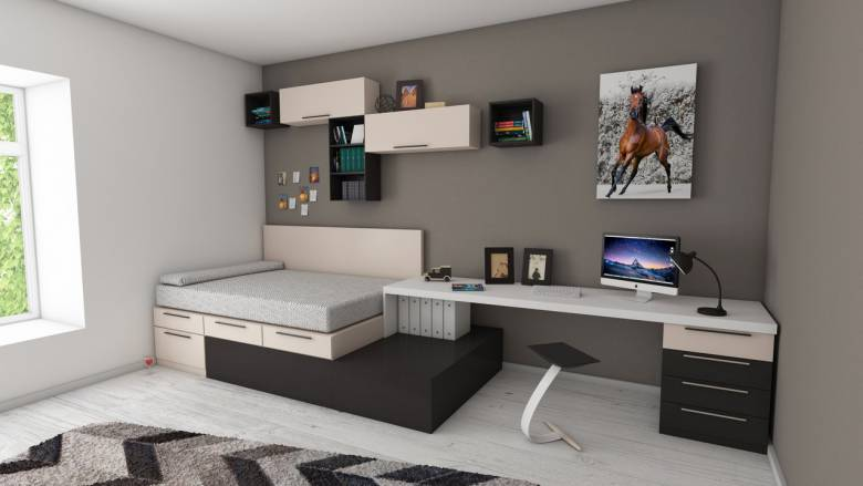 Uitgelezene 8 tips voor inrichting kleine slaapkamer - Interieur ideeen LU-54