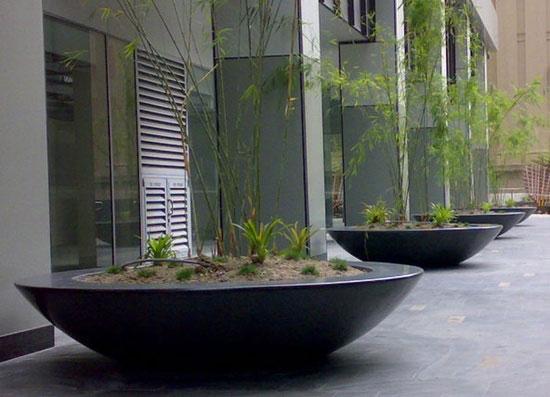 polyester plantenbakken tuin