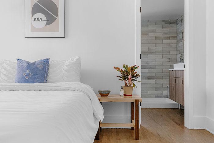 dekbedovertrek slaapkamer