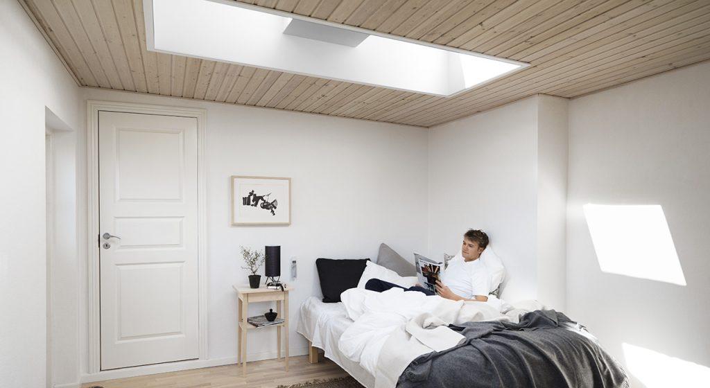 slaapkamer raam licht
