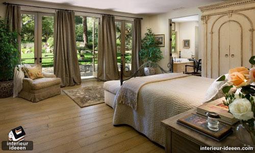 bruine slaapkamer