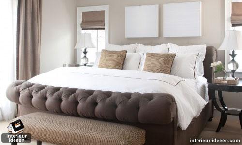 slaapkamer voorbeelden bruin