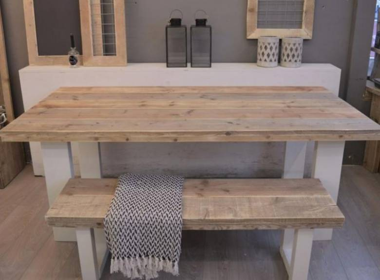 Inrichting Woonkamer Steigerhout : Je interieur inrichten met steigerhout interieur ideeen