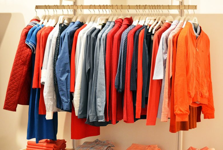 kleding, inloopkast, kledingroede