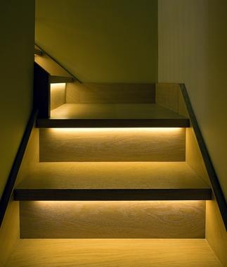 trapgat licht