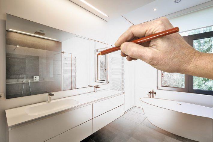 Badkamer Ontwerp Ideeen : Badkamer ontwerpen het complete stappenplan