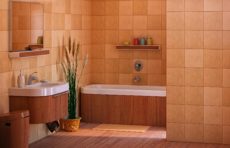 badkamer inrichten planten