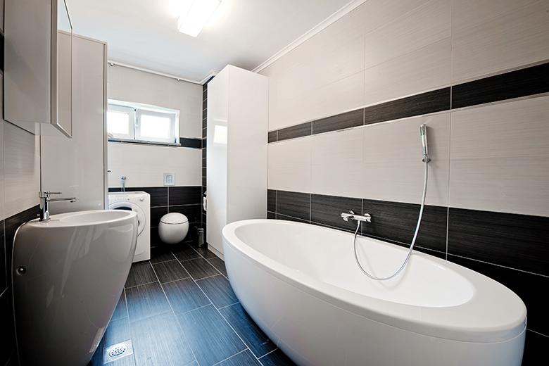 Badkamer Interieur Ideeen : Badkamer voorbeelden zwart wit badkamer foto s