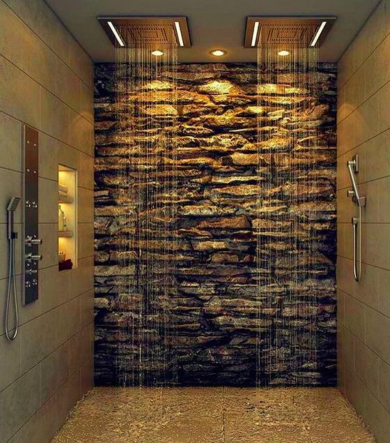 douche badkamer ideeen
