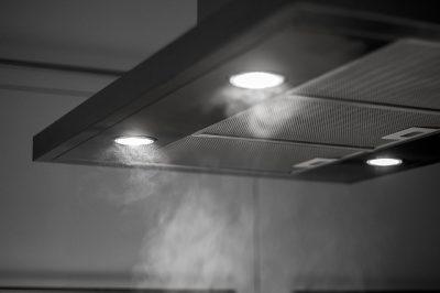 ventilatie: afzuigkap, ventilatiekanalen