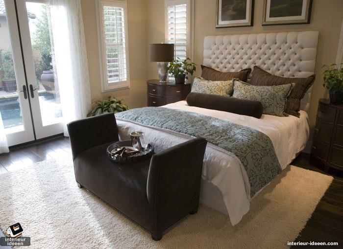 luxe slaapkamer donker