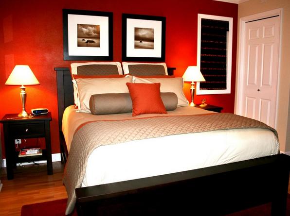 kleur inrichting kleine slaapkamer
