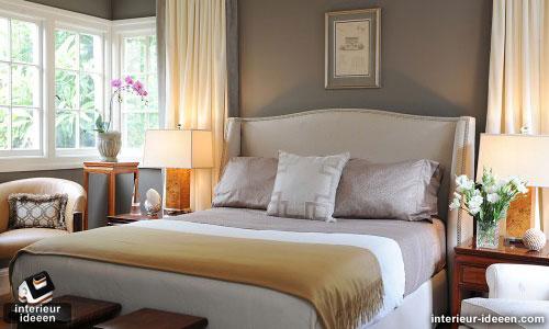 grijze slaapkamer voorbeeld 1