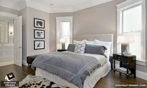 grijze slaapkamer voorbeeld 5