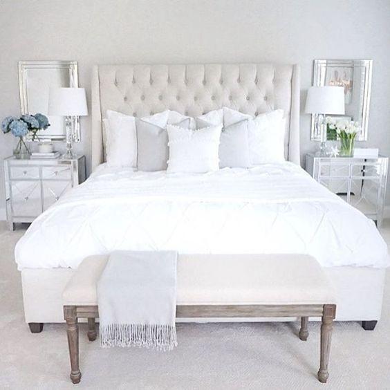 slaapkamer wit pinterest