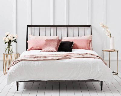 slaapkamer wit voorbeeld