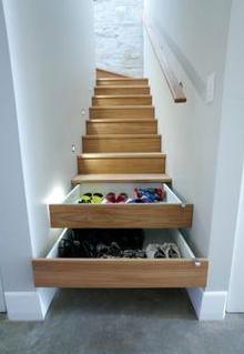 trap opruimen interieur