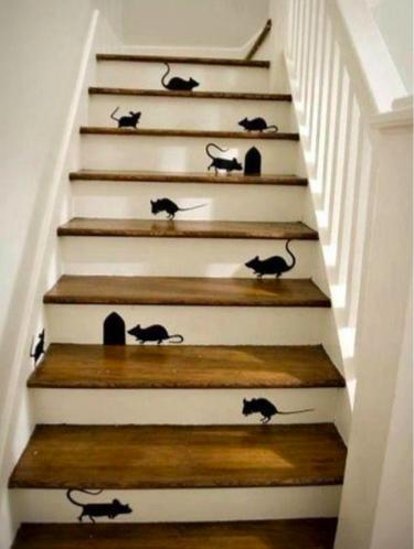trap lelijk interieur