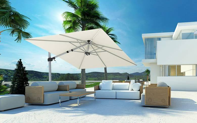 tuin parasol terras